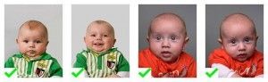 Pasfoto Baby